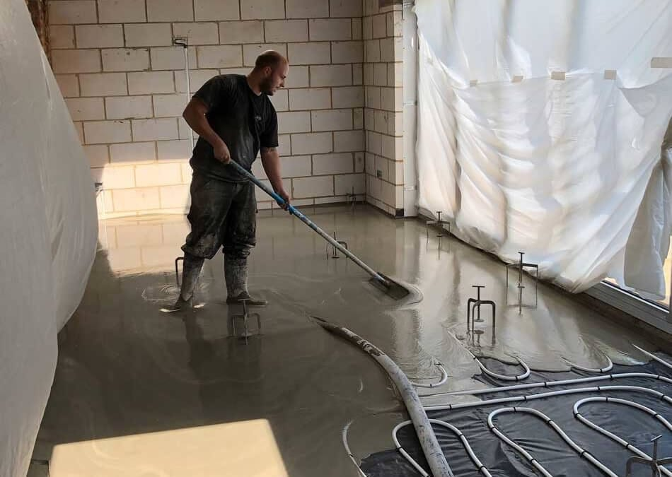 Express Liquid Screeds install Fast Drying, Cement Based Liquid Screed in Bognor Regis